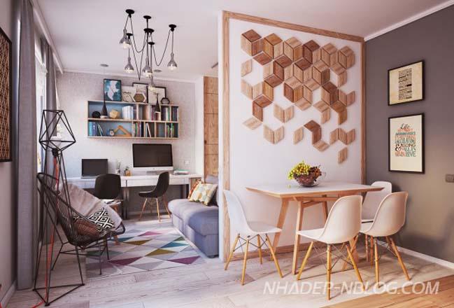 Thiết kế hoàn hảo cho nhà nhỏ đẹp 40m2