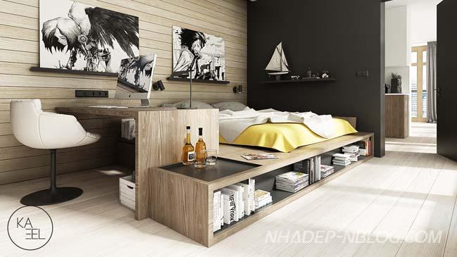 Thiết kế nội thất chung cư hiện đại và trẻ trung