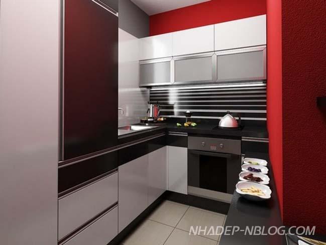 14 ý tưởng thiết kế nhà bếp nhỏ đẹp