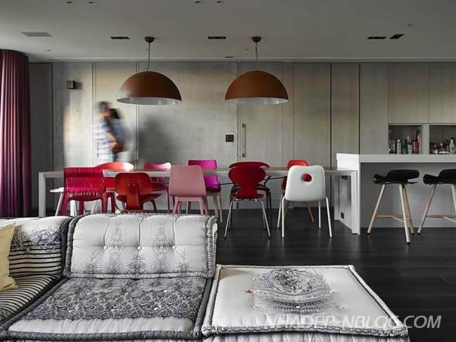 Thiết kế nhà đẹp 2 tầng với tông màu trung tính sang trọng