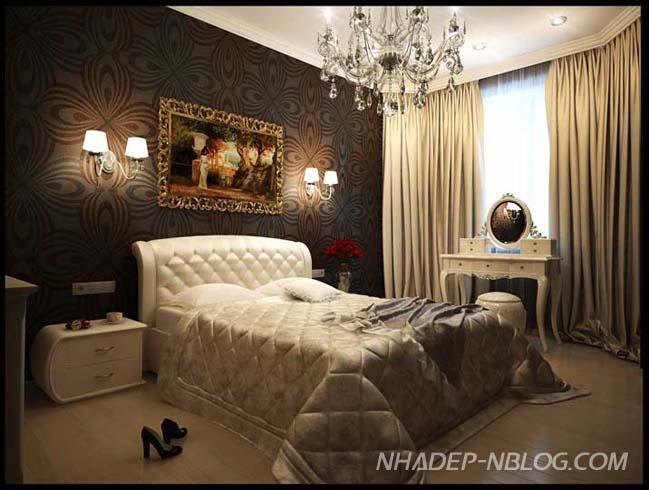Căn hộ 1 phòng ngủ với nội thất cực sang trọng