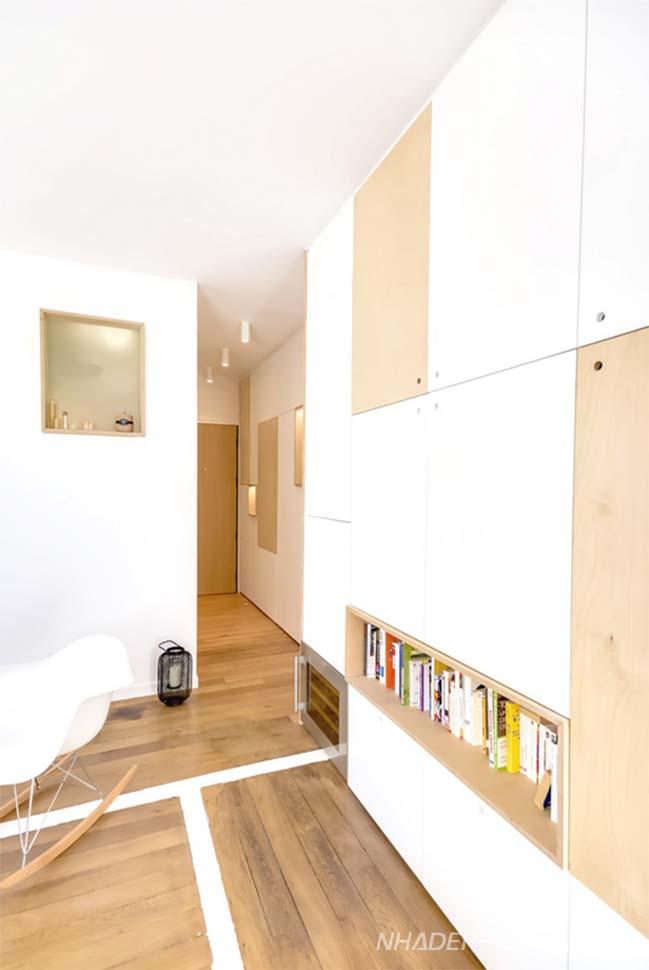 Cải tạo nhà nhỏ đẹp 30m2 tươi sáng và ấm áp