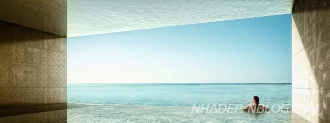 Choáng với kiến trúc siêu tưởng của resort 5 sao tại Qatar