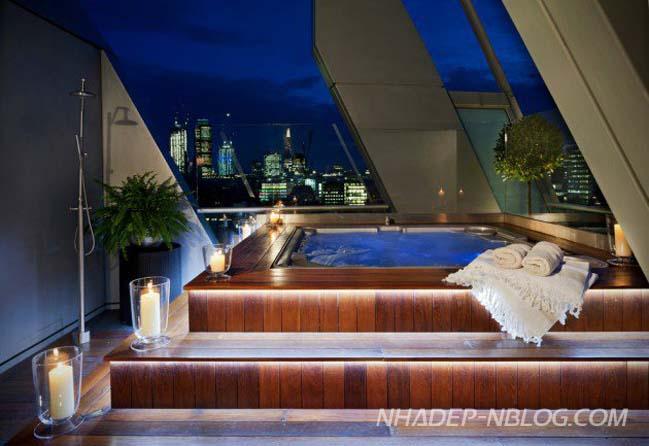 16 mẫu hồ bơi tuyệt đẹp với thiết kế hiện đại