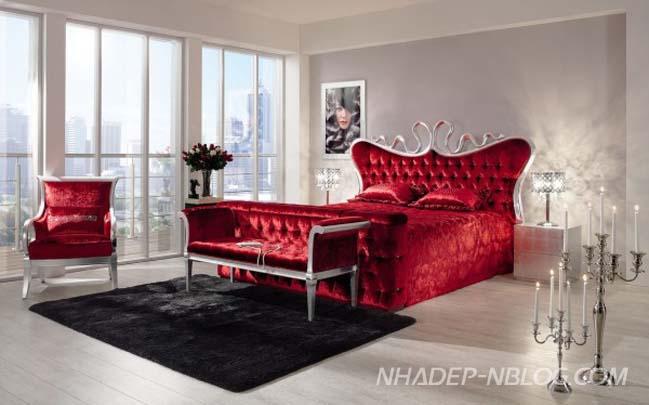 10 mẫu phòng ngủ đẹp lộng lẫy với thiết kế cổ điển