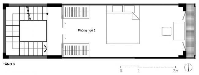 Thiết kế nhà phố đẹp 3x10m tại TpHCM