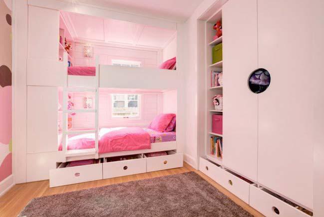 13 thiết kế sáng tạo cho phòng ngủ đẹp của bé