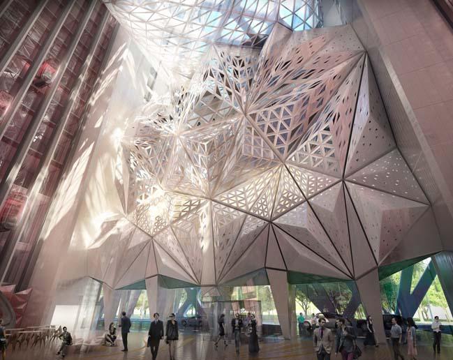 Thiết kế kiến trúc ấn tượng của khách sạn tại Macau