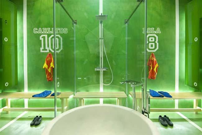 thiet ke phong tam dep voi chu de bong da 04 Cùng nhìn qua mẫu phòng tắm đẹp với chủ đề bóng đá