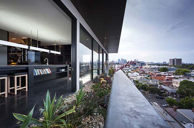 can ho penthouse voi thiet ke hien dai 09 Kiến trúc và nội thất căn hộ penthouse sang trọng với thiết kế hiện đại