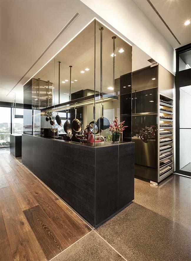 can ho penthouse voi thiet ke hien dai 10 Kiến trúc và nội thất căn hộ penthouse sang trọng với thiết kế hiện đại