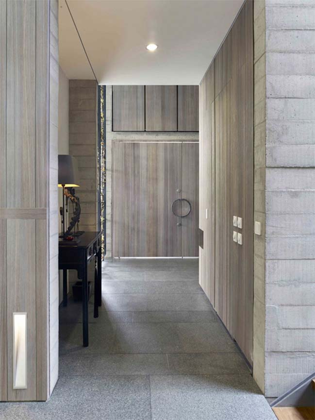 thiet ke biet thu dep voi kien truc be tong khoi 04 Thiết kế biệt thự đẹp với kiến trúc bê tông cá tính