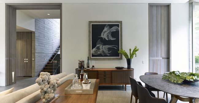 thiet ke biet thu dep voi kien truc be tong khoi 06 Thiết kế biệt thự đẹp với kiến trúc bê tông cá tính