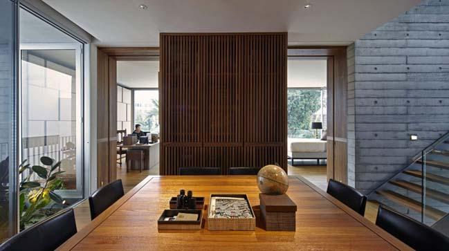 Biệt thự đẹp với kiến trúc bê tông cá tính