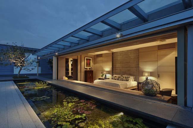 thiet ke biet thu dep voi kien truc be tong khoi 13 Thiết kế biệt thự đẹp với kiến trúc bê tông cá tính