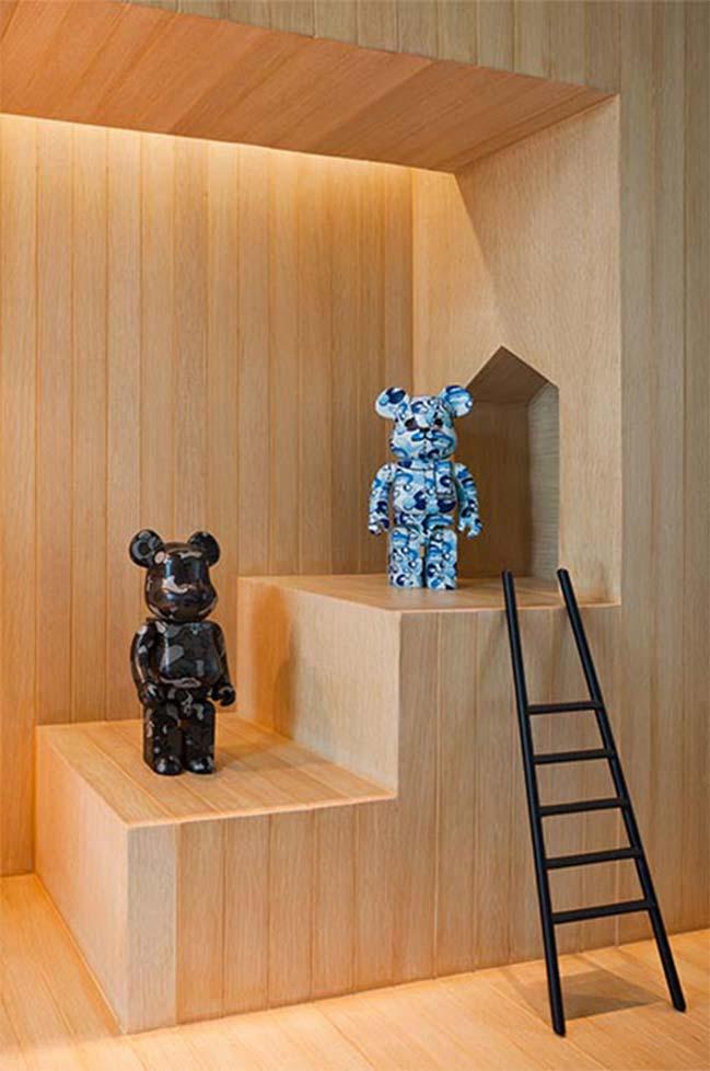Mẫu biệt thự đẹp cho người mê gấu