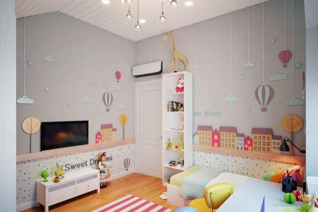 15 thiết kế Scandinavian cho phòng ngủ nhỏ đẹp của bé