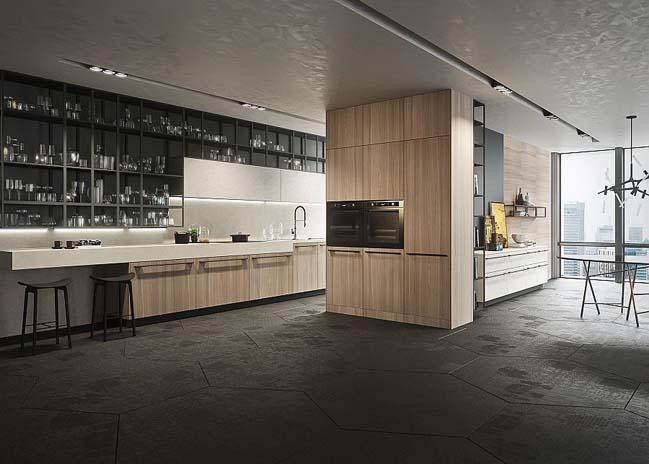 Mẫu thiết kế nhà bếp đẹp mang phong cách Ý