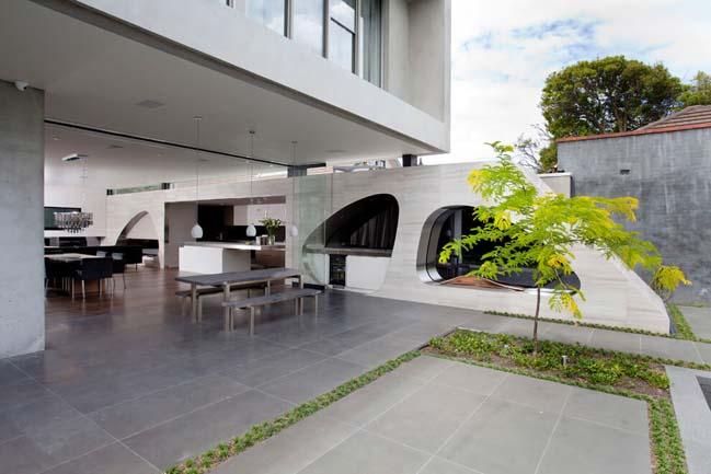 Ngắm biệt thự đẹp 3 tầng với thiết kế hiện đại