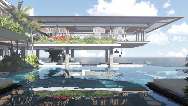 xalima water pavilion thiet ke biet thu dep sieu sang 07 Mê mẩn vớ cách thiết kếi biệt thự đẹp siêu sang giữa biển cả