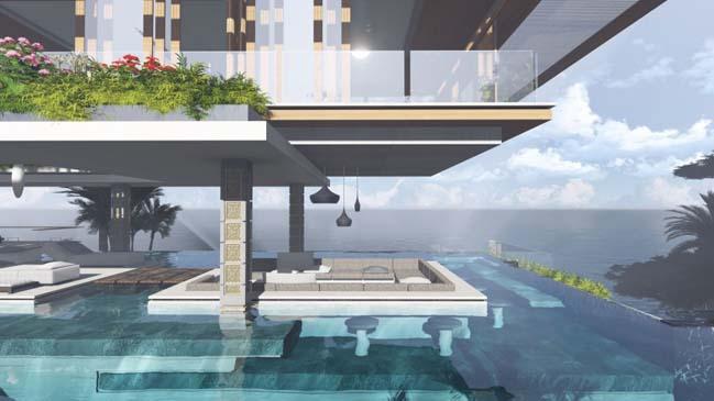 xalima water pavilion thiet ke biet thu dep sieu sang 08 Mê mẩn vớ cách thiết kếi biệt thự đẹp siêu sang giữa biển cả