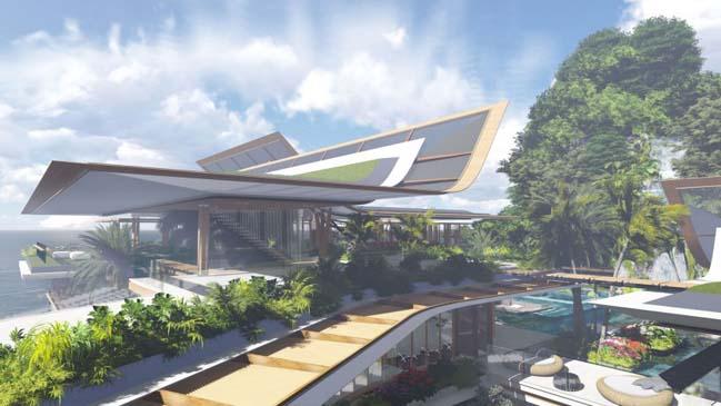 xalima water pavilion thiet ke biet thu dep sieu sang 13 Mê mẩn vớ cách thiết kếi biệt thự đẹp siêu sang giữa biển cả