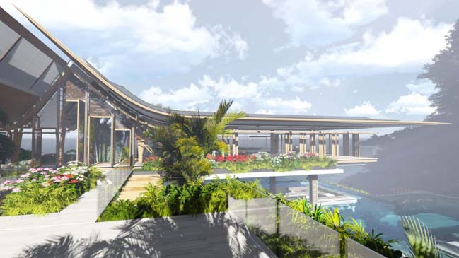 xalima water pavilion thiet ke biet thu dep sieu sang 14 Mê mẩn vớ cách thiết kếi biệt thự đẹp siêu sang giữa biển cả