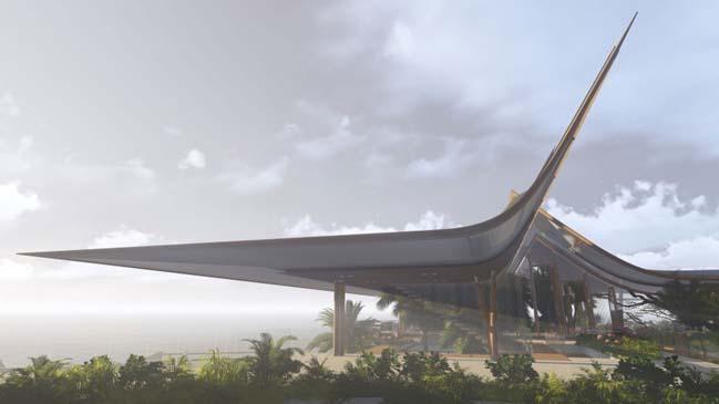 xalima water pavilion thiet ke biet thu dep sieu sang 15 Mê mẩn vớ cách thiết kếi biệt thự đẹp siêu sang giữa biển cả