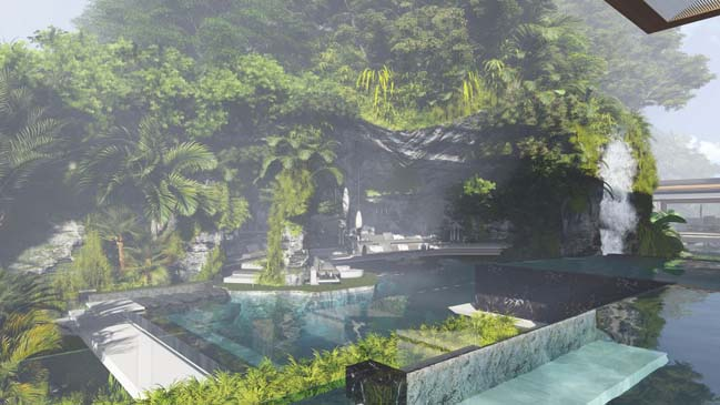 xalima water pavilion thiet ke biet thu dep sieu sang 17 Mê mẩn vớ cách thiết kếi biệt thự đẹp siêu sang giữa biển cả