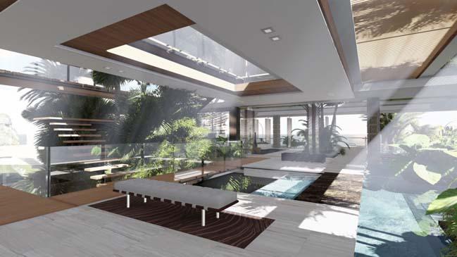 xalima water pavilion thiet ke biet thu dep sieu sang 25 Mê mẩn vớ cách thiết kếi biệt thự đẹp siêu sang giữa biển cả