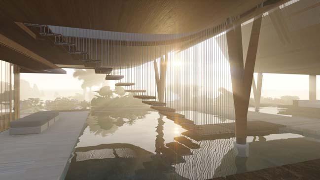 xalima water pavilion thiet ke biet thu dep sieu sang 26 Mê mẩn vớ cách thiết kếi biệt thự đẹp siêu sang giữa biển cả