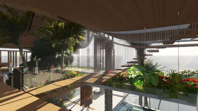 xalima water pavilion thiet ke biet thu dep sieu sang 27 Mê mẩn vớ cách thiết kếi biệt thự đẹp siêu sang giữa biển cả
