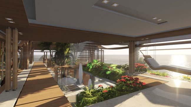 xalima water pavilion thiet ke biet thu dep sieu sang 29 Mê mẩn vớ cách thiết kếi biệt thự đẹp siêu sang giữa biển cả