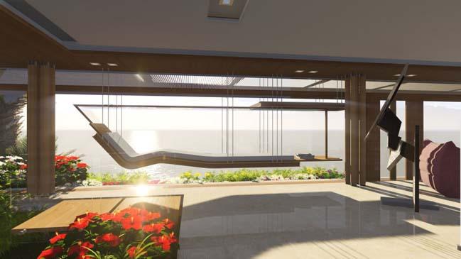 xalima water pavilion thiet ke biet thu dep sieu sang 30 Mê mẩn vớ cách thiết kếi biệt thự đẹp siêu sang giữa biển cả