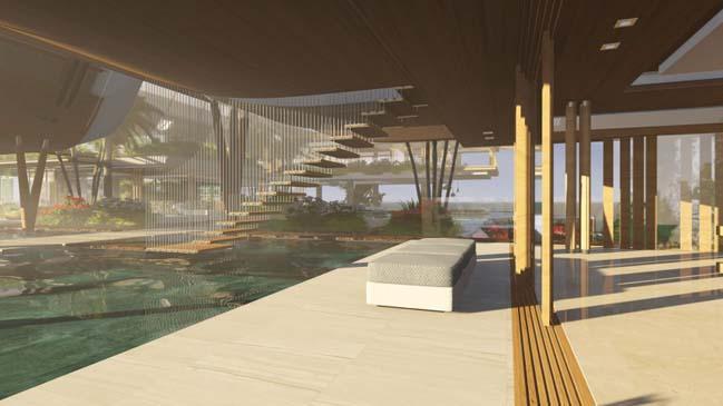 xalima water pavilion thiet ke biet thu dep sieu sang 31 Mê mẩn vớ cách thiết kếi biệt thự đẹp siêu sang giữa biển cả