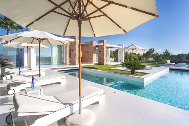 Ngắm biệt thự đẹp sang trọng tại đảo Ibiza