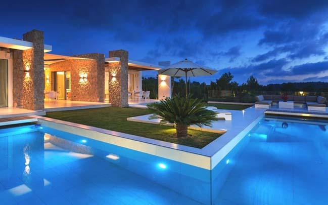 Ngắm biệt thự sang trọng tại đảo Ibiza