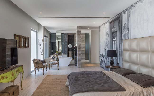 Mẫu biệt thự đẹp với thiết kế đương đại
