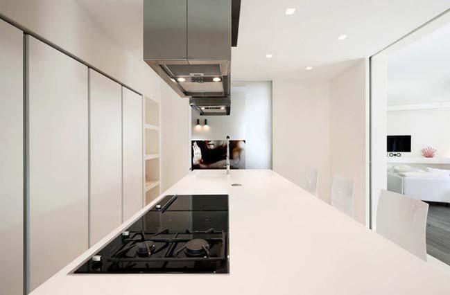 Thiết kế nội thất chung cư với những điểm nhấn đầy màu sắc