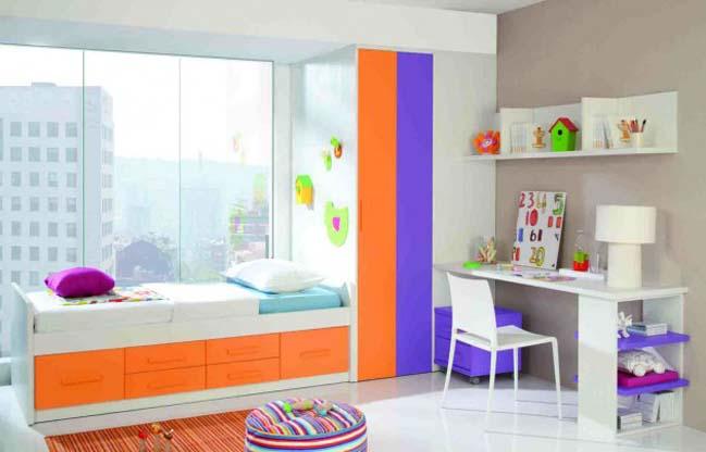 18 mẫu phòng ngủ đẹp đầy màu sắc cho trẻ