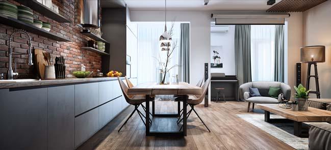 Căn hộ chung cư đẹp với nội thất tinh tế