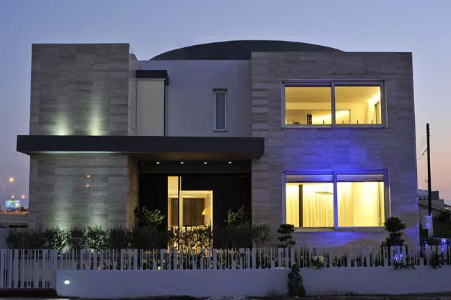 Biệt thự đẹp với thiết kế trước sau khác biệt