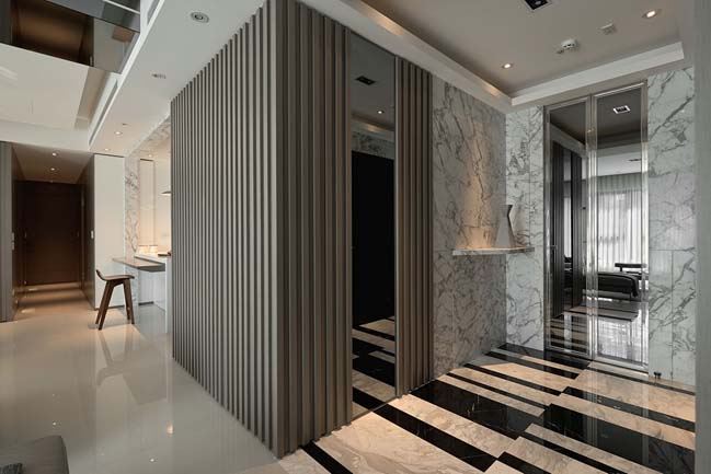 thiet ke noi that can ho sang trong 03 Cùng nhìn qua nội thất căn hộ với thiết kế đương đại sang trọng