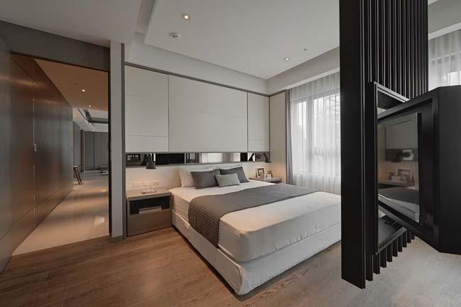 thiet ke noi that can ho sang trong 08 Cùng nhìn qua nội thất căn hộ với thiết kế đương đại sang trọng