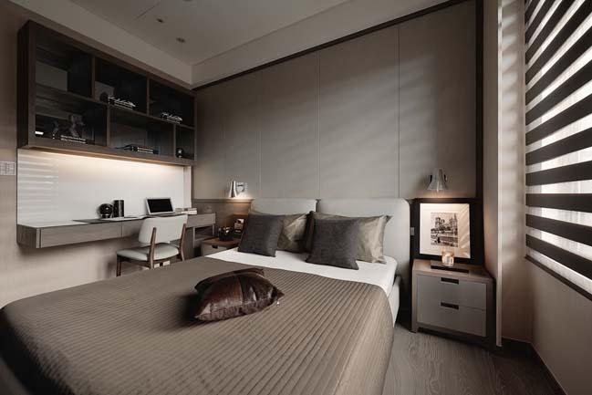 thiet ke noi that can ho sang trong 09 Cùng nhìn qua nội thất căn hộ với thiết kế đương đại sang trọng