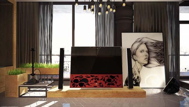 phong ngu dep voi thiet ke sang tao 03 Chiêm ngưỡng 5 mẫu phòng ngủ đẹp với thiết kế sáng tạo