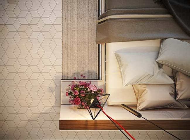 phong ngu dep voi thiet ke sang tao 05 Chiêm ngưỡng 5 mẫu phòng ngủ đẹp với thiết kế sáng tạo