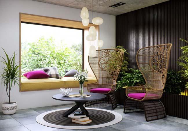 phong ngu dep voi thiet ke sang tao 12 Chiêm ngưỡng 5 mẫu phòng ngủ đẹp với thiết kế sáng tạo