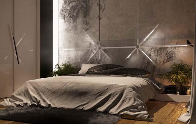 phong ngu dep voi thiet ke sang tao 13 Chiêm ngưỡng 5 mẫu phòng ngủ đẹp với thiết kế sáng tạo
