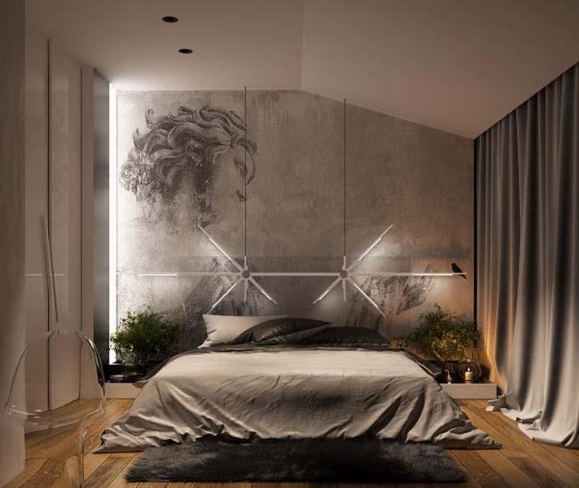 phong ngu dep voi thiet ke sang tao 14 Chiêm ngưỡng 5 mẫu phòng ngủ đẹp với thiết kế sáng tạo